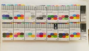 LOT OF 108 Copic Sketch Markers  *NEW *FREE SHIPPING!