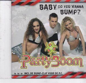 Party Boom-Baby Do You Wanna Bump cd single