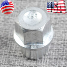 For VW Volkswagen Audi Wheel Lock Key 16 Pointed Spline Style ABC 5 US FAST SHIP