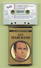 K7 Audio - Guy Marchand - Cassette d'Or - Barclay - Compilation 1979