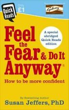 NEW Feel the Fear and Do It Anyway By Susan Jeffers Paperback Free Shipping