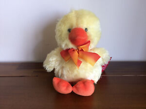 RUSS Yellow Chicken Chick Chirples Soft Plush Easter Gift Toy Small