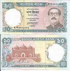 BANGLADESH 10 TAKA 1997 P 32 LOTE DE 5 BILLETES