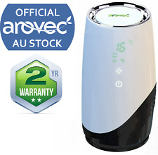 Arovec Portable car Air Purifier cleaner ionizer HEPA filter for alleriges Home