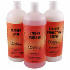 Leather Master Strong Leather Care Kit Bundle - Liters