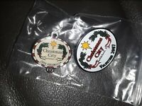 Lot of 2 volunteer 2007&2008 Bethlehem, PA Christmas City, USA Pins Button- RARE