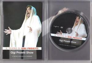 Gigi Proietti Show ( 2000) - il teatro di Gigi Proietti - dvd ottime condizioni