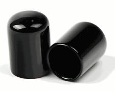 "1/2"" Round Tube Cap,Tubing End Cap, PVC Masking Cap, flexible PVC vinyl -16 pack"