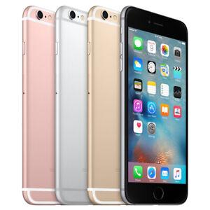 Apple iPhone 6S - 16GB 64GB 128GB - Factory Unlocked - Gray, Rose, Gold, Silver