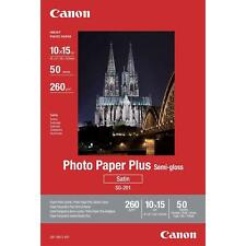 Canon Semi-gloss 4x6 Photo Paper Plus - 50 Sheets