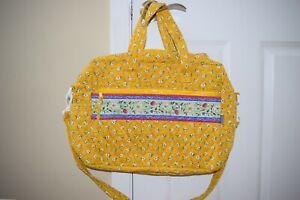 Maggi B MaggiB Red Pink Yellow Lotus Berry Diaper Baby Bag Travel, NWT!