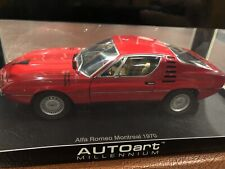 1:18 Autoart Alfa Romeo Montreal 1970, NEW, Factory Sealed, Never Displayed RARE
