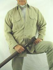 Hunting  STURDY OAK Vintage Sanforized Army Twill Button Shirt  Men's M  YNZ1