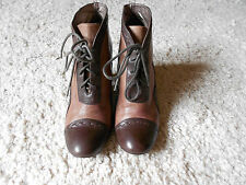 Womens brown leather Jane Shilton boots size 38