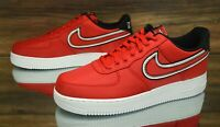 Nike Air Force 1 '07 LV8 Red Black CD0886-600 Mens Shoes Size 11.5 NEW - DISPLAY