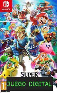 Super Smash Bros. Ultimate   Nintendo Switch. ¡LEER DESCRIPCIÓN!