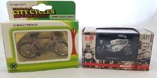 2 X VINTAGE DIE-CAST COLLECTABLES CITY CYCLE 1/20 SCALE & 1:32 DUCATI 750 IMOLA