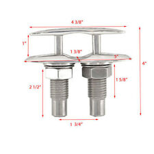 Cleat ATTWOOD 5 INCH STAINLESS BOAT OEM SLIMLINE POP-UP CLEAT 104609