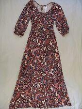 Rachel Pally 'Willow' Maxi Dress - Sz S Lotus Paisley Print NWT & Beautiful