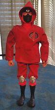 1996 Hasbro Gi Joe Red Cobra Ninja Action Figure 11 Black Mask G.i. Joe Go Joe