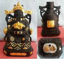 Chinese God Wealth Rich Luck Statue LP Kaew Thai Amulet Worship Power Mineral