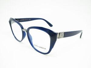 Authentic Dolce & Gabbana DG 5041 Opal Blue 3094 Eyeglasses 53mm