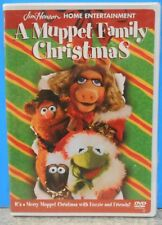 A Muppet Family Christmas (DVD 2001) RARE BRAND NEW OFFICIAL WHITE CASE W SEALS
