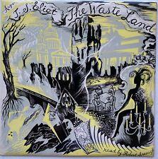 T.S. Eliot The Waste Land UK Argo LP RG 10 - Anthology of Spoken Poetry No. 1