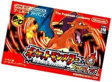 Game Boy Advance Pokemon Fire Red - Japanese Import