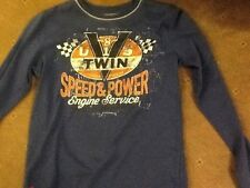 REPLAY (age 10 ) BLUE LONG SLEEVE T SHIRT in VERY good condiiton