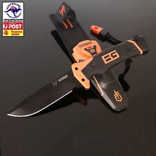 Gerber Bear Grylls Survival Ultimate Pro Knife with Flint amp Whistle DK-47 AUS
