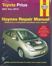 Repair Manual Haynes 92081 For  Toyota Prius 01-12 256 Pages