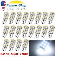 5pcs x High Quality BA15d 110V 120VAC 4W White 6000K US CA LED Lamp Light Bulb