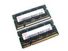 Hynix HYMP125S64CP8-Y5 4GB (2x2GB Kit) 2Rx8 PC2-5300S-555 DDR2 Laptop Memory