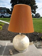 Mother of Pearl Mosaic Round Table Lamp Light Base