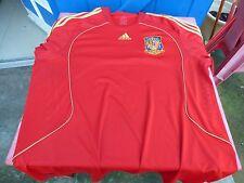 maillot de foot Espagne Espana adidas vintage rouge red XXL jersey