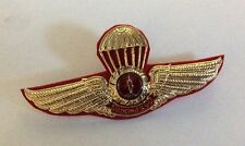 Thai Army Parachute The 11th Infantry Command wings badge