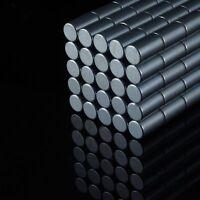20x Neodym Stab Magnete Ø6 x 10 mm N48 2,5kg Haftkraft NdFeB D6x10 mm rund