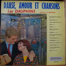LES DAUPHINS DANSE, AMOUR ET CHANSONS CHEESECAKE COVER FRENCH LP