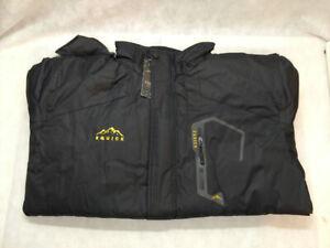 NWT Equick Men's Black Mountain Waterproof Ski Jacket XL