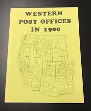 Western Post Offices In 1900, 1985