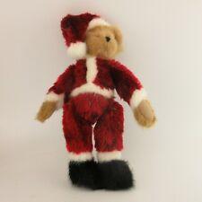 Boyds Head Bean Collection Santa Bearhugs Plush Christmas Tree Topper 562753
