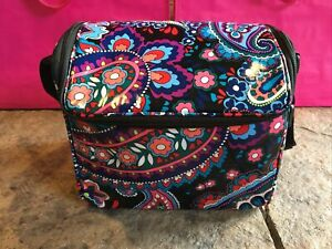 Vera Bradley HAYMARKET PAISLEY Stay Cooler Lunch Bag Camera Bag  NWT
