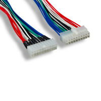 """Kentek 9"""" 20Pin ATX Power Supply Male to PC Mainboard Female Power Cable Adapter"""