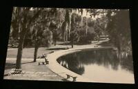 1940s Ponce De Leon Springs , DeLeon Springs Florida RPPC Real photo