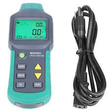 Mastech Ms5908ams5908c Digital Circuit Analyzer Trms Voltage Gfci Rcd Tester