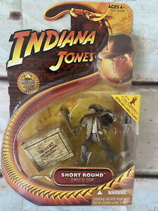 Indiana Jones And The Temple Of Doom Short Round Action Figure  Hasbro 2008