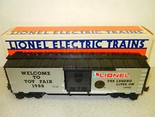 NEW LIONEL LIMITED PRODUCTION 19902- 1988 TOY FAIR BOXCAR- 0/027- NEW- W8