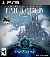 Final Fantasy XIV Online [PlayStation 3 PS3, Realm Reborn & Heavensward, MMORPG]