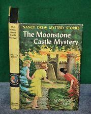 Vintage Book - Nancy Drew Mystery No 40 - The Moonstone Castle Mystery 1963